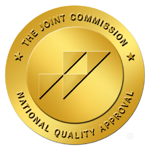 """The Joint Commission national quality approval logo"""
